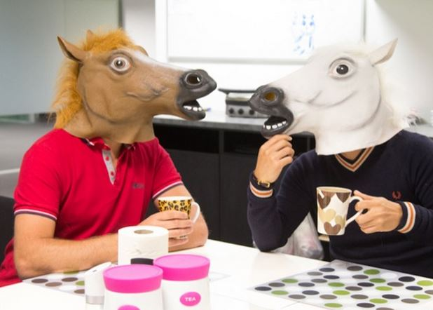 Catch-Of-The-Day Horse Heads