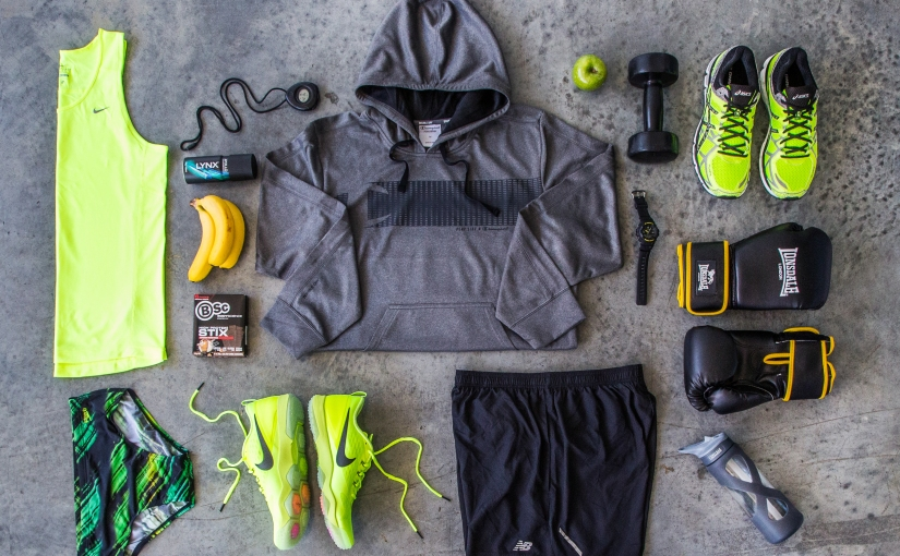 Go Fluoro or Go Home – Men's Activewear