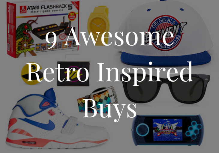9 Awesome Retro Inspired Buys