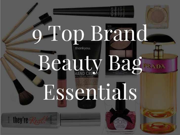 9 Top Brand Beauty Bag Essentials