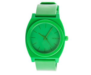 nixon-men-s-time-teller-watch-green