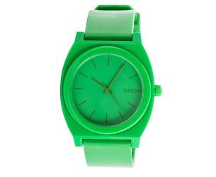 nixon-men-s-time-teller-watch-green