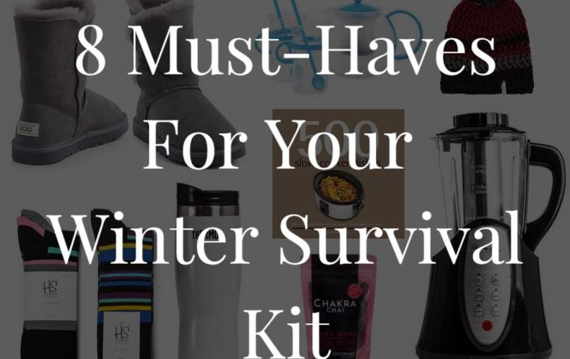 What You'll Need To Survive This Winter!
