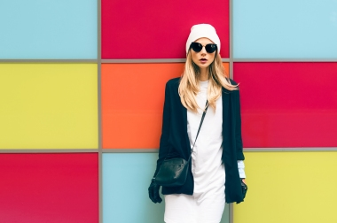 Blonde Winter Style