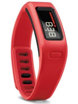 Garmin Vivofit red vertical