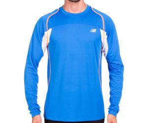 New Balance Men's Momentum LS Tee - Cobalt Blue