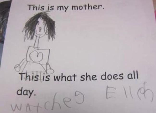 Mother's Day Ellen