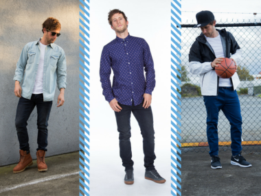 Different ways to style denim