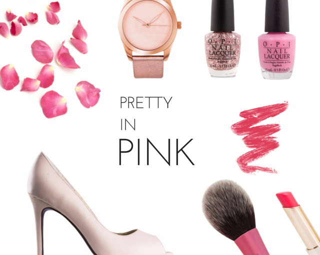 Pretty in Pink – Floral Inspired Pieces