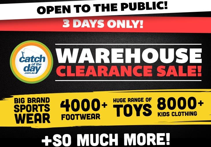 Warehouse Sale: Open To Public InBallarat