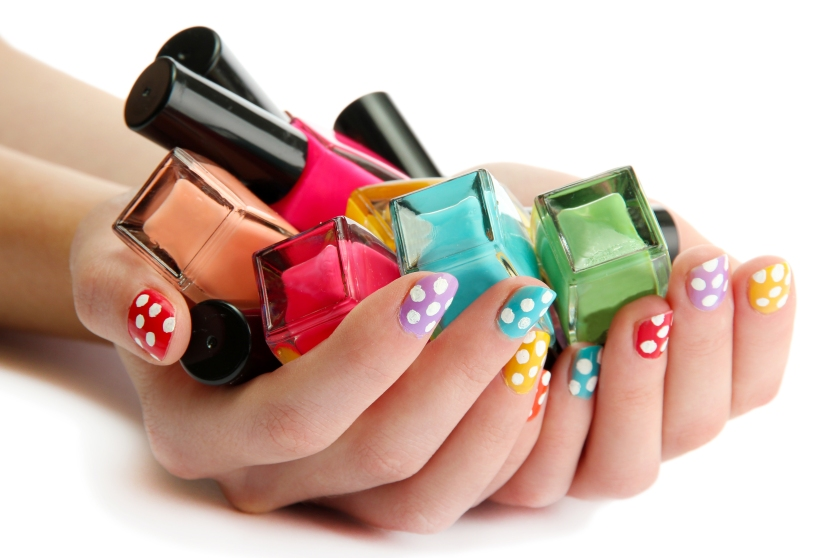 The Beginner's Guide to Nail Art - Nailing Polka Dots