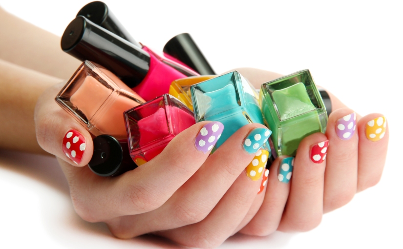 The Beginner's Guide to Nail Art – Nailing Polka Dots