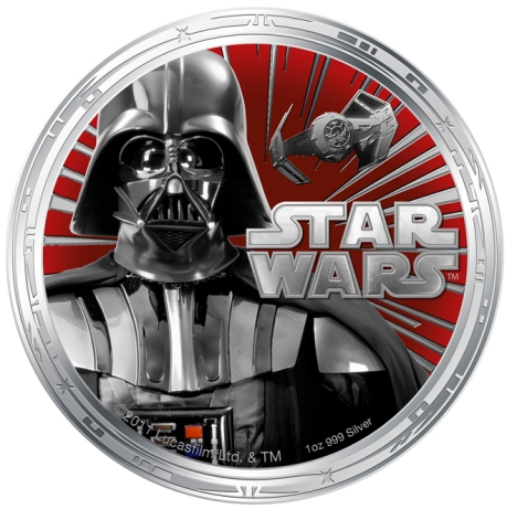 Star Wars Money Darth Vader