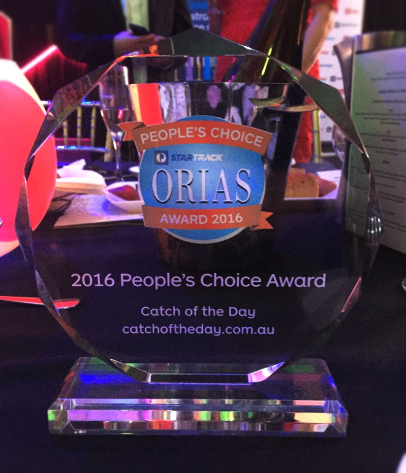 StarTrack 2016 ORIAS People's Choice Award