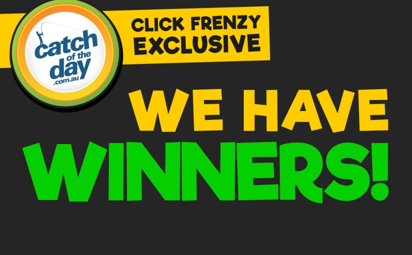 It's back! New Click Frenzy Prize WINNERS